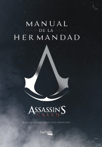 Cubierta de la obra Manual de la Hermandad-Assassin's Creed